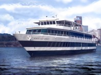 Cruise ship for tours, parties, receptions, lunch and dinner cruises