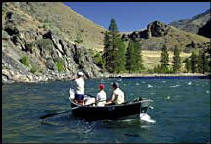 Enjoy the beauty pleasant and peaceful river drift boat trip.