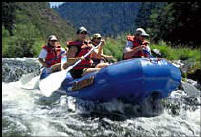 OR & WA Wild Water Rafting